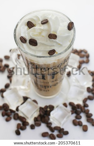 Iced Coffee - stock photo