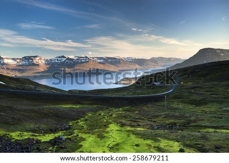 Iceland,/ East Fjords - stock photo