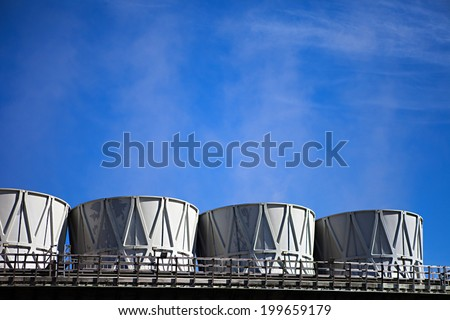 Iceland's geothermal power plant station in the Krafla volcanic region - stock photo