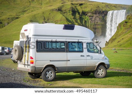 ICELAND September 16 2015 Mercedes Benz Stock Photo Royalty Free