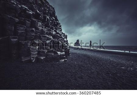 Icelandic landscape - stock photo