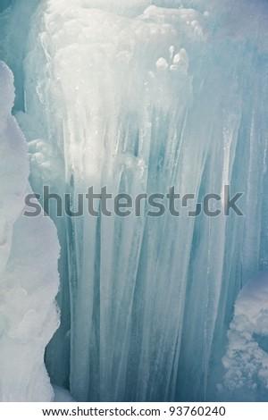 icicle - stock photo