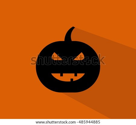 icon halloween pumpkin
