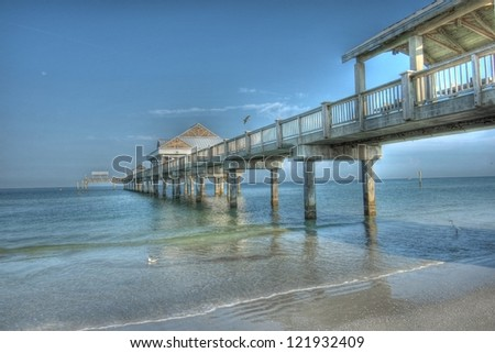 Iconic Pier 60 at Clearwater Beach, FL