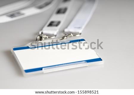 ID badges - stock photo
