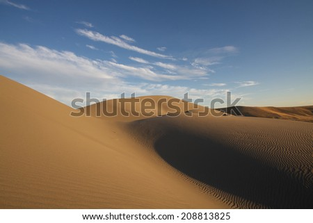 Idaho desert - stock photo