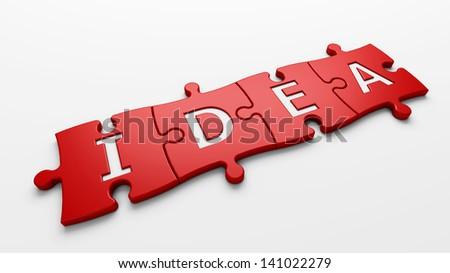 idea - stock photo