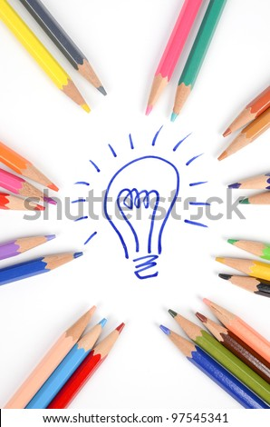 Idea - stock photo