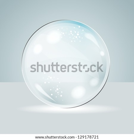 Idea Bulbs. Glass Chat Bubbles