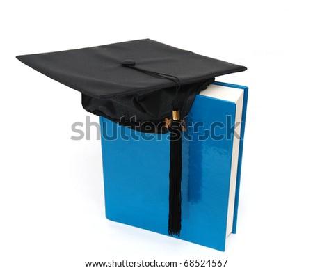 Idea of graduating presentation - stock photo
