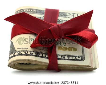 Idea of money lucks - stock photo