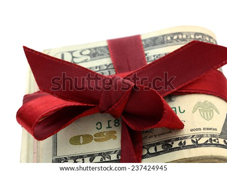 Idea of money lucks - stock photo