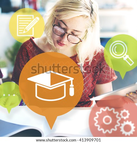 Ideas Learning Education Study Innovation Concept - stock photo