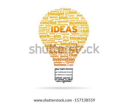 Ideas Sphere - stock photo