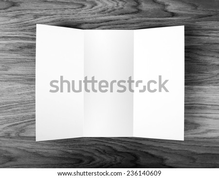 identity design, corporate templates, company style, blank white folding paper flyer