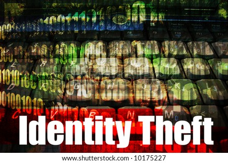 Identity Theft, a hot online web security topic for the internet