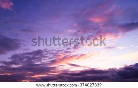Idyllic Wallpaper Bay View  - stock photo