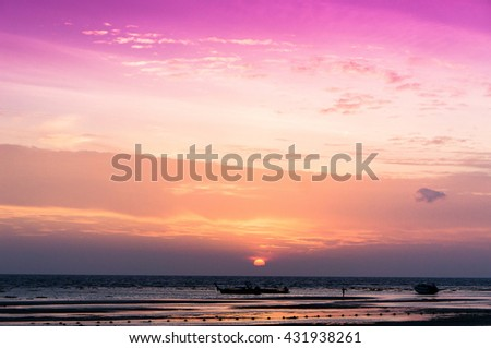 Idyllic Wallpaper Sunset Glow