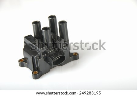 ignition coil - stock photo