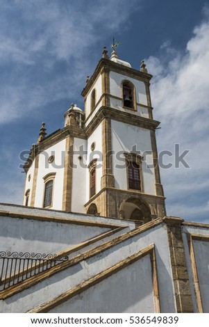 Igreja Nossa Senhora Da Gloria Do Outeiro (Gloria Church) In Outeiro Da  Gloria (