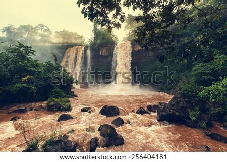 Iguassu Falls - stock photo