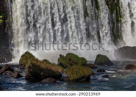 Iguazu falls - stock photo