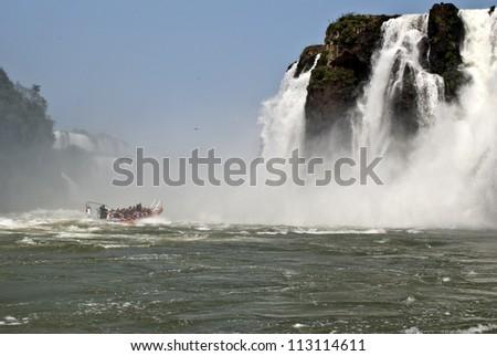 iguazu falls,argentina - stock photo