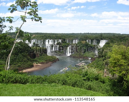 Iguazu Falls, Brazil, South America - stock photo