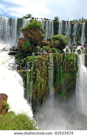 Iguazu Falls, Brazil, South America - stock photo