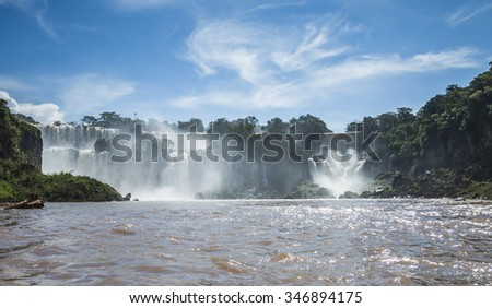 Iguazu Waterfall, Brazil