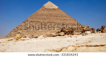 il cairo and its monuments - stock photo
