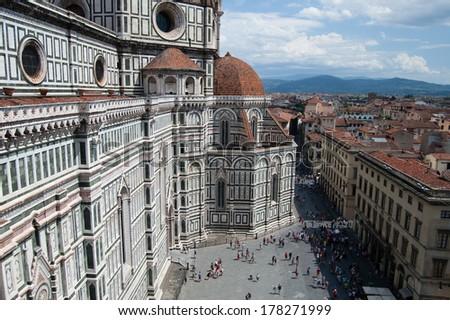 Il Duome: Santa Maria del Fiore, Florence, Italy - stock photo