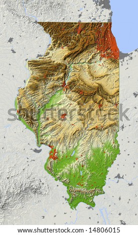 Usa Relief Map Stock Images RoyaltyFree Images Vectors - Us topo relief map