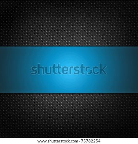 illustrate of blue silver grill texture background. - stock photo