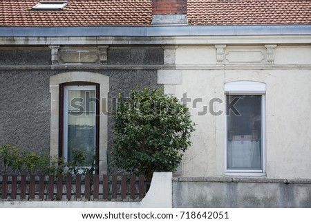Before after house stock images royalty free images vectors illustration cleaning washing wall house before and after pressure water facade exterior malvernweather Choice Image