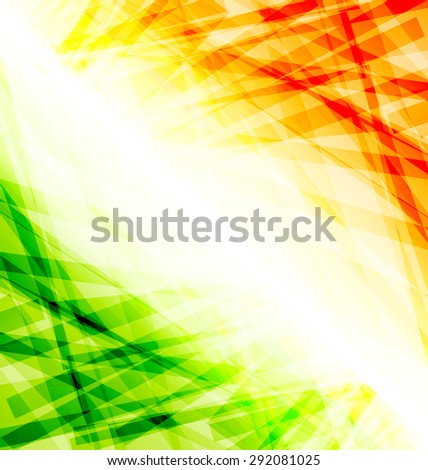 Illustration Indian Independence Day Background, 15 August - raster - stock photo