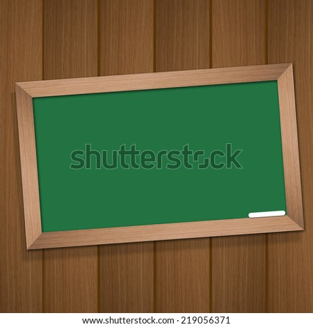 illustration od blackboard background