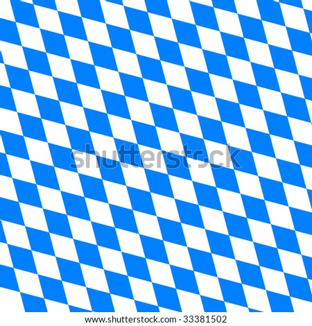 illustration of a bavarian background - stock photo