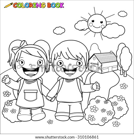 Child Outline Stock Images Royalty Free Images Vectors