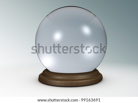 Illustration of a crystal ball.