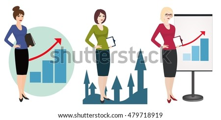 Illustration of a qualified PR manager on white background. Specialist in public relations, 3D illustration