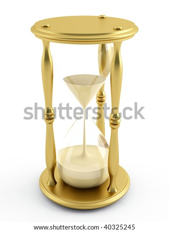 illustration of a sandglass ? hourglass