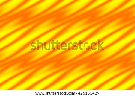 Illustration of a yellow background with orange pattern