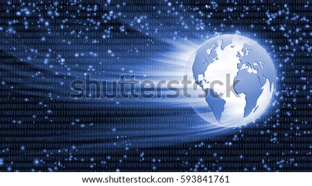 illustration of abstract technological background close up.3D images