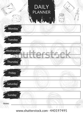 illustration of calendar design. It can be used as a poster, greeting card, invitation, printed materials. Scrapbooking. . illustration - stock photo
