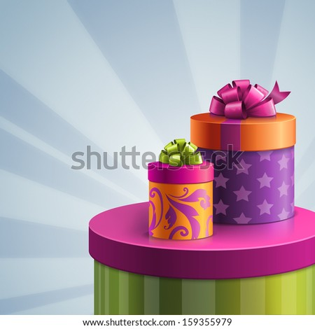 Shutterstockwacomkagift boxes illustration of colorful gift boxes birthday greeting background negle Image collections