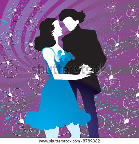Hug amp kissing moment are two boy amp girl - 1 4