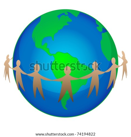 illustration of earth day concept