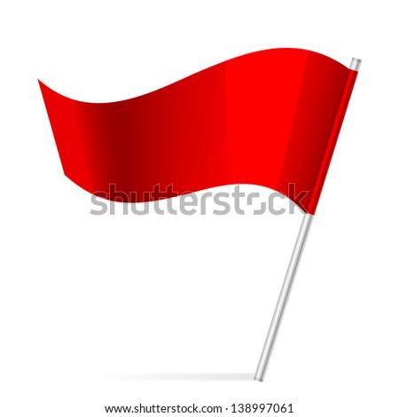 Illustration of flag - stock photo