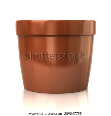 Illustration of flower pot